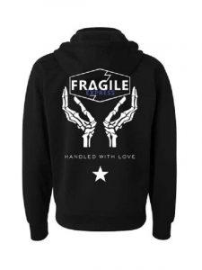 The Fragile Express Death Stranding Black Hoodie
